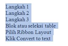 convert text